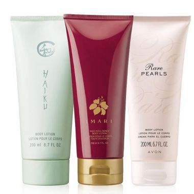 Fragrance Body Lotion 3-Piece Set
