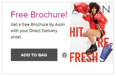 free Avon brochure