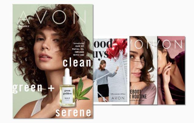 Avon Campaign 5 Catalogs