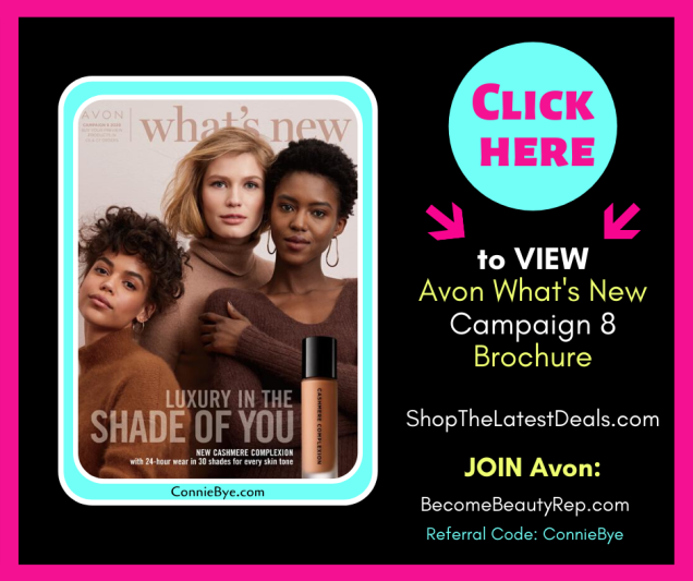 Avon What's New 8 2020 Catalog
