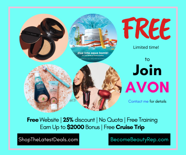 Free to join Avon