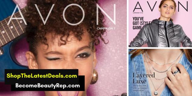 Avon Campaign 7 Brochures