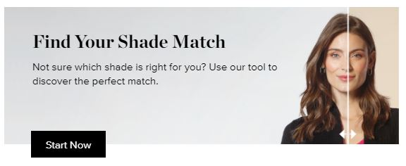 Find Your Shade Banner