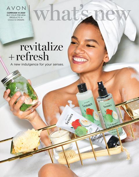 Avon What's New 14 2020 Catalog