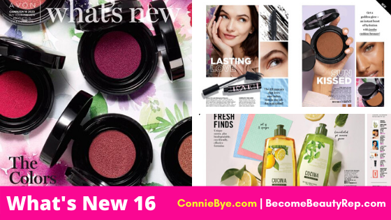 Avon What's New 16 2020 Demo Book