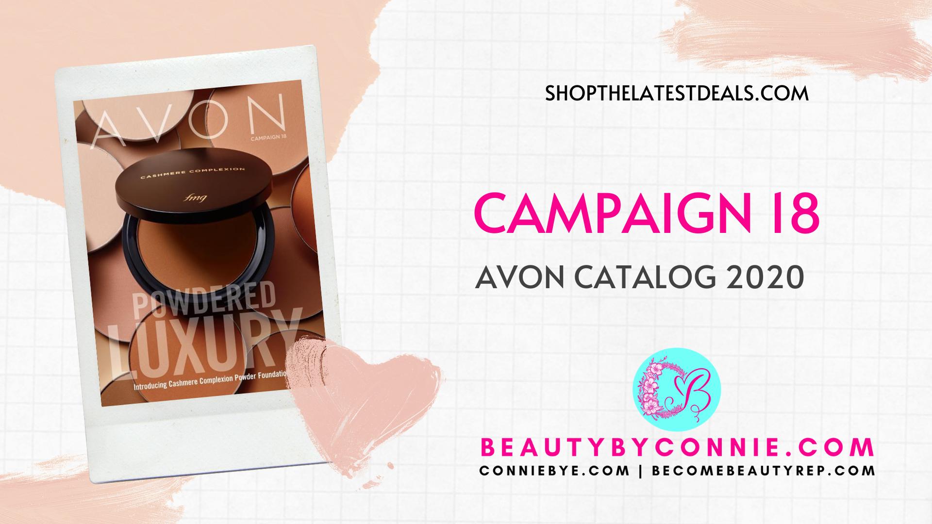 Avon Campaign 18 Catalog 2020