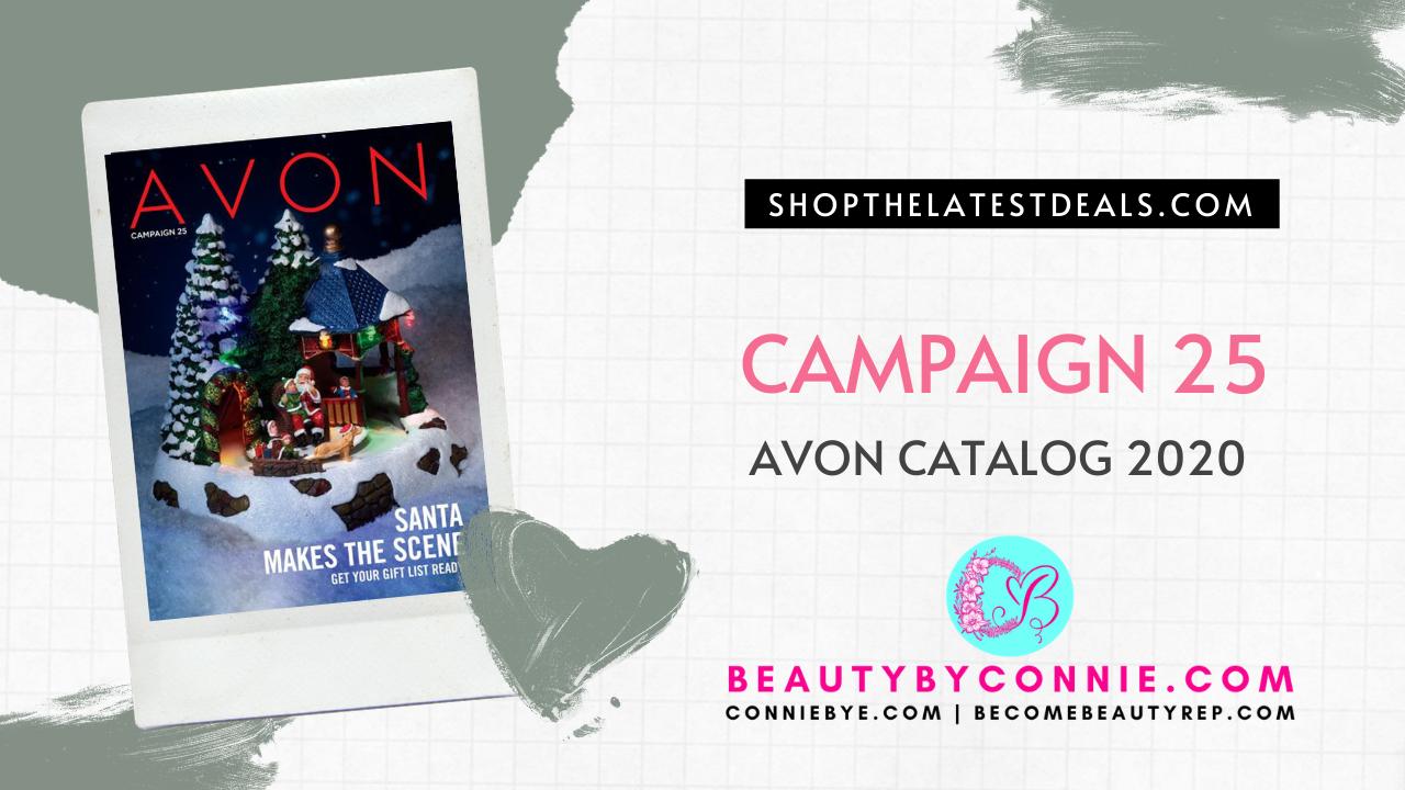 Avon Catalog Campaign 25 2020